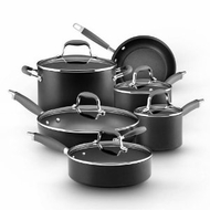 Anolon 82676 Advanced Hard Anodized Nonstick 11-Piece Cookware Set - click to enlarge