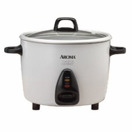 Aroma 7 Cup Rice Cooker w/ Steam Tray - click to enlarge