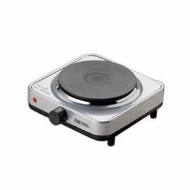 Aroma AHP-303SB Single Hot Plate, Silver and Black - click to enlarge