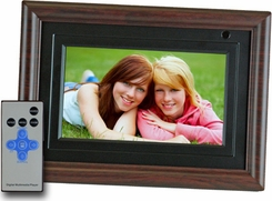 Axion AXN-9700M 7'' LCD Digital Mutimidia Picture Frame - click to enlarge