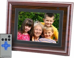 Axion AXN-9805M 8'' LCD Digital Multimedia Picture Frame - click to enlarge