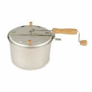 Back to Basics Aluminum Stove-Top Popcorn Popper - click to enlarge