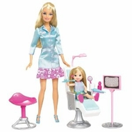Barbie I Can Be Dentist Playset - click to enlarge