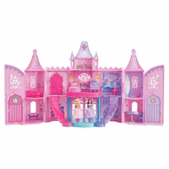 Barbie The Princess and The Popstar Musical Light Up Castle Playset - click to enlarge