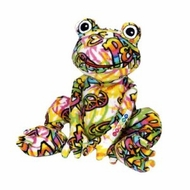 BeePosh Fergie Frog : Large by Melissa and Doug - click to enlarge