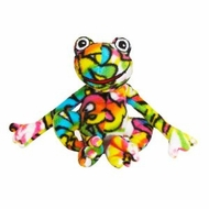BeePosh Fergie Frog - Small by Melissa and Doug - click to enlarge