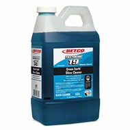 Betco 53547-00 FastDraw 19 Green Earth Glass Cleaner - 2 Liter - click to enlarge