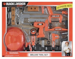 Black and Decker Deluxe Tool Set with Hardhat - click to enlarge