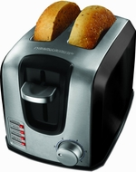 Black & Decker T2707SB 2-Slice Toaster, Black - click to enlarge