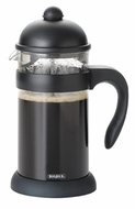 BonJour Hugo 3-Cup Unbreakable French Press, Black - click to enlarge