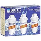 BRITA 35503 Replacement Filters for Drinking Water Pitchers (3 pack) - click to enlarge