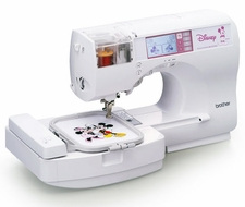 Brother SE270D Computerized Sewing and Embroidery Machine - click to enlarge