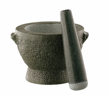 Cilio Granite Tall Mortar and Pestle - click to enlarge