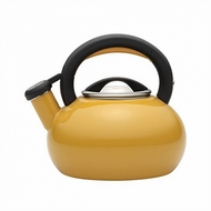 Circulon 1-1/2-Quart Sunrise Teakettle, Mustard Yellow - click to enlarge
