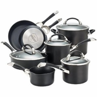 Circulon 87376 Symmetry Hard Anodized Nonstick Cookware Set, 11-Piece - click to enlarge