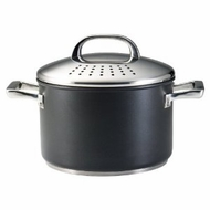Circulon Infinite Circulon 7-Quart Covered Locking Straining Stockpot - click to enlarge
