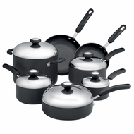 Circulon Total Hard Anodized Nonstick 12-Piece Cookware Set - click to enlarge