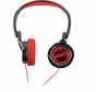 Coby CV400RED Jammerz Streets Urban Style Deep Bass Headphones, Red