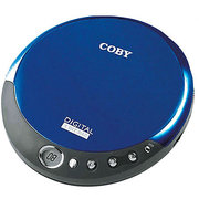 Coby CXCD109 Personal CD Player with Stereo Headphones, Red