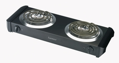 Continental Electric CE23319 Double Burner Range - click to enlarge