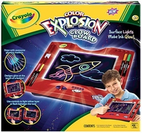 Crayola Color Explosion Glow Board - click to enlarge