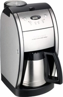 Cuisinart DGB-600BC Grind and Brew Thermal Coffeemaker (Reconditioned) - click to enlarge