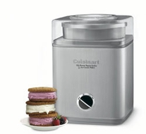 Cuisinart ICE-30BC Pure Indulgence 2-Quart Automatic Frozen Yogurt, Sorbet, and Ice Cream Maker - click to enlarge