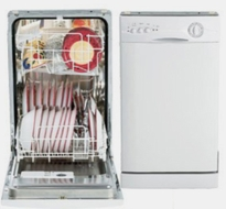 Danby DDW1802W Built-In Dishwasher - click to enlarge