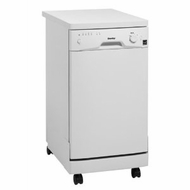 Danby DDW1899WP Full Console Portable Dishwasher with 5 Wash Cycles- 8 Place Settings - click to enlarge