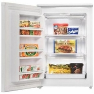 Danby DUF408WE 4.2 cu.ft. upright freezer- White - click to enlarge