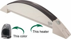 Delonghi BBH100G SafeHeat Baseboard Heater - click to enlarge