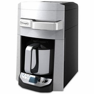 DeLonghi DCF6212TTC Silver 12 Cup Programmable Front Fill Drip Coffee Maker - click to enlarge