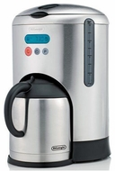 DeLonghi DCM485 10-Cup Programmable Coffee Maker - click to enlarge