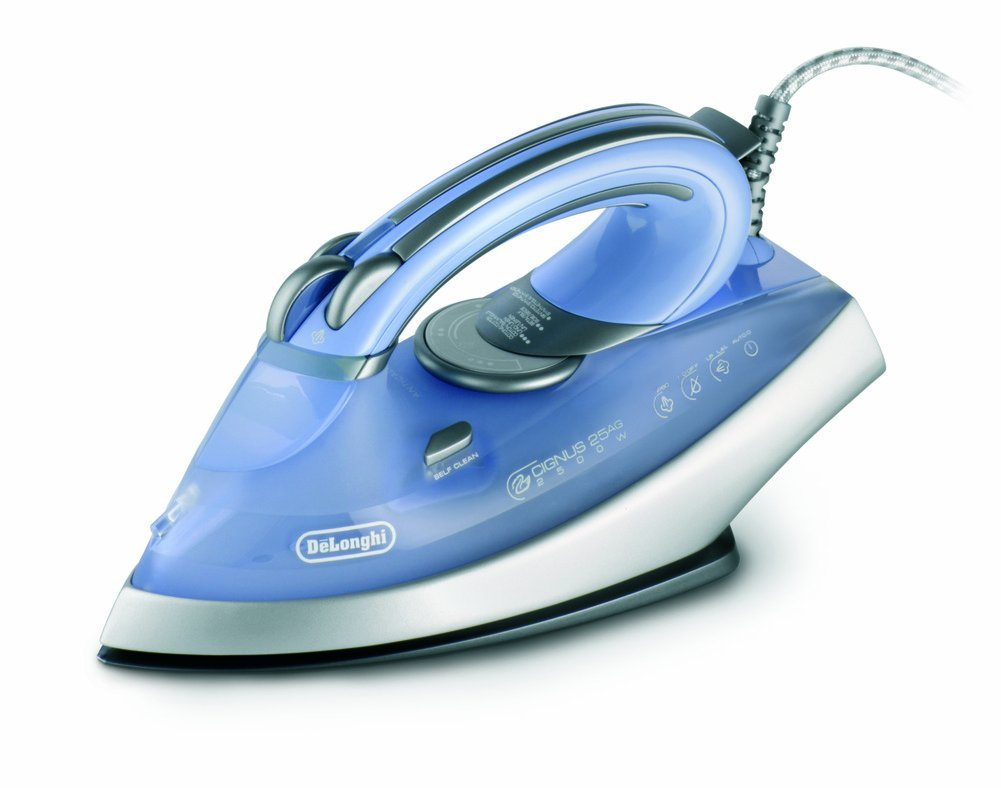 1800 Electric Iron ~ Delonghi delfxn ag watt steam iron with ceramic and