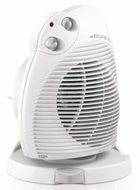 DeLonghi DFH443 Oscillating Fan Heater with Foot Switch - click to enlarge