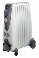 DeLonghi DR18TG Rapido Oil-Filled Radiator Heater - click to enlarge
