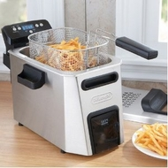 Delonghi Dual Zone w/ Oil Drain Deep Fryer - click to enlarge