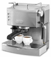 DeLonghi EC701 Stainless Steel Espresso Machine - click to enlarge