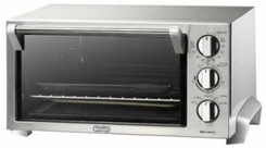 DeLonghi EO1260 Esclusivo Stainless Steel Toaster Oven - click to enlarge