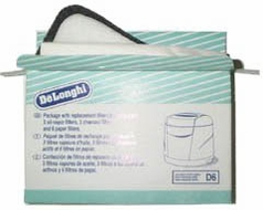 DeLonghi FK6 Odor-Vapor Deep Fryer Filters - click to enlarge