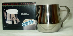 DeLonghi SP10 10-Oz. Stainless Steel Frothing Pitcher - click to enlarge