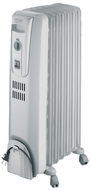 DeLonghi TRH0715 Oil-Filled Radiator Heater - click to enlarge
