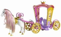 Disney Enchanted Tales Musical Carousel Coach Playset - click to enlarge