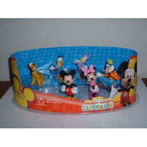 8ee6ac3c9f9 Disney Mickey Mouse Clubhouse Figure Play Set -- 6-Pc.
