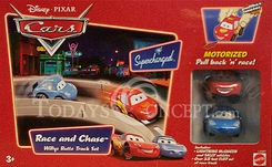 Disney - Pixar's <i>Cars</i> Race And Chase: Willys Butte Track Set - click to enlarge
