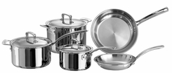 Dr. Weil 2008 Healthy Kitchen 8 Piece Stainless Cookware Set - click to enlarge