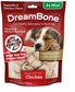 DreamBone Chicken Dog Chew Mini 24count 3 pack