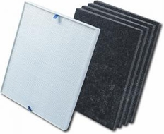 Electrolux EL024 Filter- HEPA and 4 Carbon for EL500AZ Air Purfier Cleaner - click to enlarge