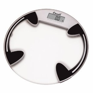Escali B180RC Glass Platform Bathroom Scale, 400lb - click to enlarge