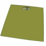Escali B180SC Glass Platform Bathroom Scale, Sage Green 400lb - click to enlarge
